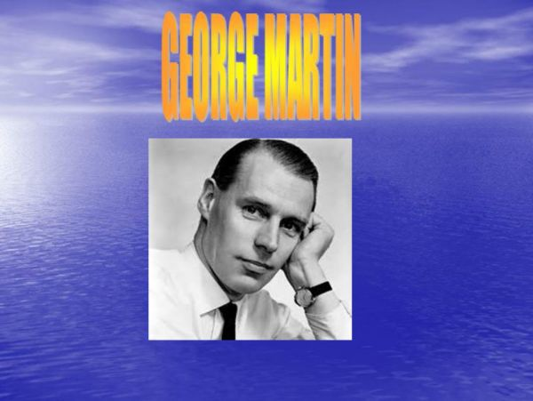 GEORGE MARTIN by ALBERTO